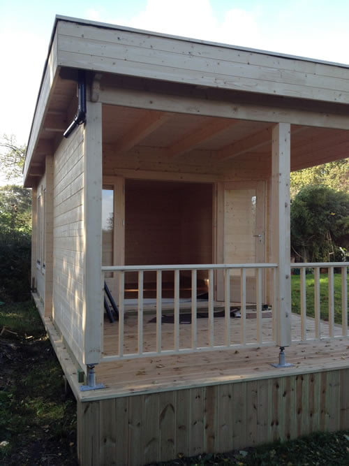 Decking and Canopy