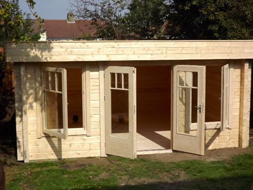 Log Cabin in Dartford