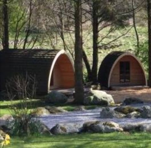 Timber Buildings for Camping
