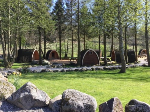 Glamping Pod Building Project