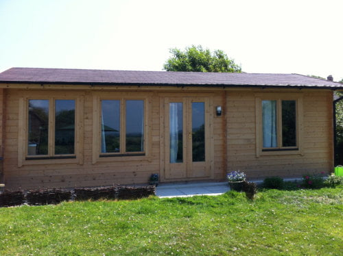Fully Fitted Log Cabin