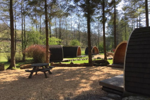Glamping Pods Timber Buildings
