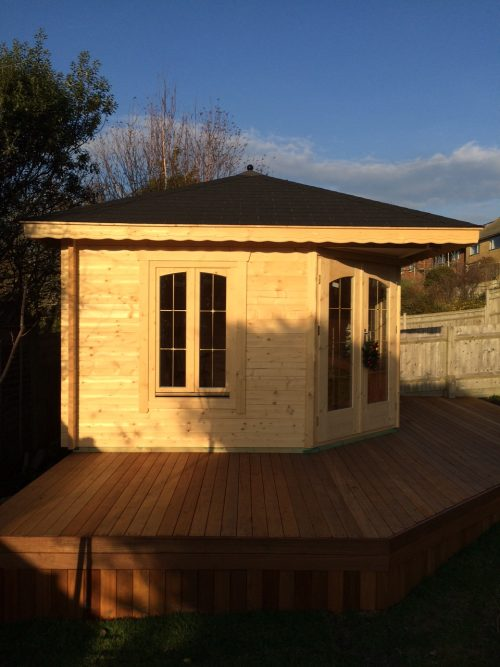 Summerhouse with Decking