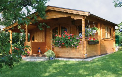 Log Cabin Summerhouse